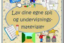 Undervisning / Dansk og engelsk