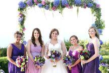 Purple Wedding Flower