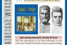Homeschool: Bible/worldview / by Jana D