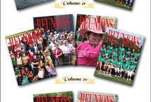 Reunions magazine / These are Reunions magazine products which include magazines, a website chock full of reunion planning information, podcasts, a photo gallery of reunions (yours can be there too), giveaways and contests and lots more. Products on Etsy also include save the date and time is running out cards and designs for DIY t-shirts. Explore those and these Pinterest boards for details. / by Reunions Magazine