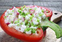 salatalar ve mezeler