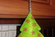 Decorațiuni crăciun din fetru / christmas