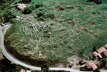 AlacaHoyuk, This mound, the most important Hittite center is 310 m wide and 20 m high.