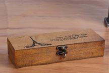 Drewniane piórniki
