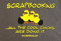 Scrappin' with attitude T shirts / Paper Wizards collection of Scrapbooking inspired and themed T shirts.
