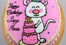Bánh sinh nhật tuổi tý (chuôt)