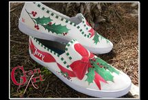 shoe painting ideas