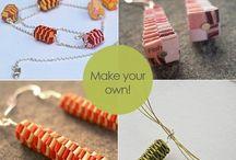 paper jewellery ideas