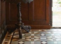 Victorian Floor Tiles - Inspirational Patterns / These inspirational patterns have an enduring appeal. They use star shapes, grid patterns and deep borders and incorporate geometric patterns in gothic styles, classic styles and experimental styles.