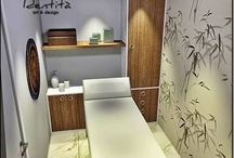 sala de massagem e estetica