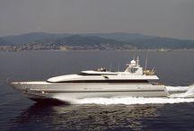 Aldo Cichero's yacht design / Here there some of Studio Cichero's important works