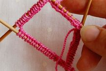 Knitting tips and projects