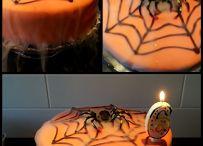 Halloween cake / Smoky Halloween cake