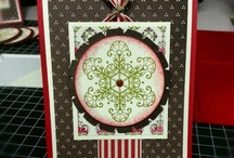 MY CHRISTMAS CARDS / Stampin Up inspired Christmas cards! / by Barbara Charles