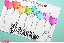 Love - Mudra Stamp Set