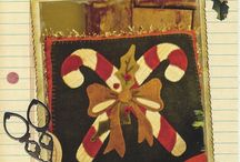 wool applique fun / by PAT LOCKEN