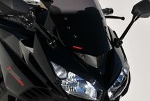 Kawasaki Ninja Z 1000 SX 2013/2016 by Ermax Design / Accessories, windshield, rear hugger, handle cover, under tail