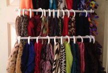 Storing scarves