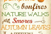 Autumn leaves / For all things fall