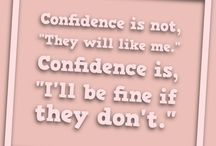 Confidence and Inspiration
