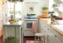 In the Kitchen / The kitchen is a gathering place and a place to share food