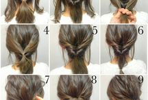 inside out bun hairstyles