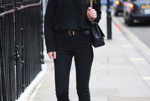 Looks gótica suave / Para as amantes de looks totalmente pretos ♥