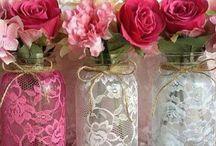 vidrinho decorados