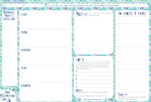 3. Planner: Kakebo, schedule