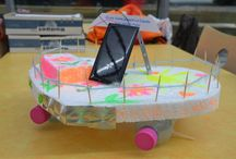 Children made some DIY of the MS Tûranor PlanetSolar / Let's see the mini MS Tûranor PlanetSolar made by children in Boulogne-sur-Mer! So cute! More pictures here: http://www.planetsolar.org/boat/sections/logbook