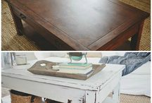 Upcycling wooden furniture