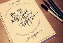 Calligraphy / Cali