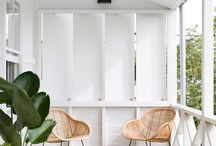 Interiors | Inside/Outside / Seamless connections between interiors and an outdoor space.