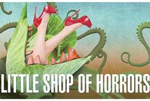 """""""Little Shop of Horrors"""" - 2015 Season - September 23rd - October 11th / By Alan Menken and Howard Ashman. The charming, tongue in cheek musical comedy of Seymour who stumbles across a new breed of plant he names """"Audrey II"""" - after his coworker crush, has been devouring audiences for over 30 years. A deviously delicious Broadway and Hollywood sci-fi smash musical."""