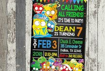 Thomas' 7th birthday party ideas- Grossery Gang