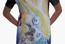 Grafic-T-shirt dresses by Camphuijsen Art / Ontwerpen bij redbubble voor jurkjes