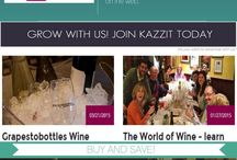Wine Tasting / Kazzit is your ultimate Wine Event guide to the best Wine Tastings, Wine Pairings, and Wine Festivals, in cities across the US and around the world.  Experience new wines and explore wine events like never before.  http://www.kazzit.com/event/