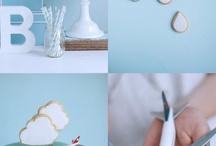Aqua & blue Party Ideas ♥