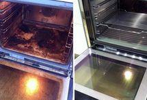 Rengøring ovn
