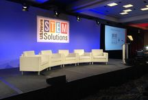 2015 US News Stem Solutions Conference / EVENTEQ provided stage set, audio, lighting, video and webcasting for the 2015 US News Stem Solutions Conference in Manchester Grand Hyatt in San Diego
