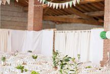Mariage champêtre à Auribail / Tara et Pascal , mariage vintage , février 2015 Photographe : award weddings  Musique et mise en lumières : Autour de Minuit Animations