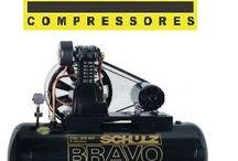 Compressor de Ar CSL 20 Bravo reservátorio 200L Triasico Schulz