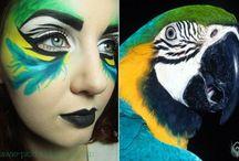 Papagáj jelmez