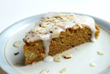 Carrotcake With a touch of marcipan