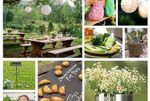 cafe picnic theme