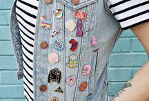 Lapel pin styles