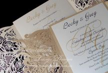 JUST ELEGANT Wedding Invites | Wedding Invitation Suite and stationery | Elegant party themes / Elegant Wedding Invites, made with elegant papers, for any theme. Custom created for modern or vintage, rustic glam, beach or destination wedding invitations. Watercolor , glitter suite, bundles or pocket luxury styles... more at http://www.tangodesign.com.au/