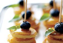 Memorable Meals / Delicious ideas for a memorable meal for your wedding reception.