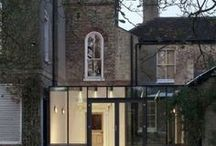 Glass Extension / Glass Extensions to existing buildings