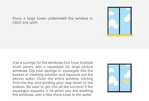 How to Clean Interior Windows
